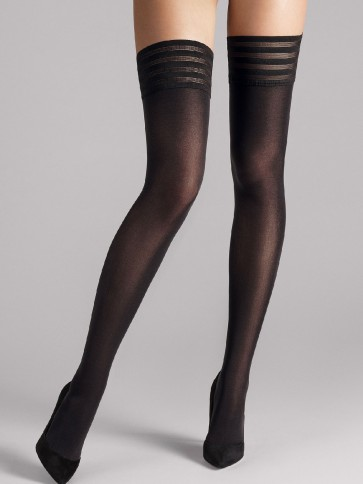 Wolford Velvet de Luxe 50 Stay-Up ,Wolford