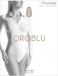 Oroblu SATINEE body long sleeves,Oroblu