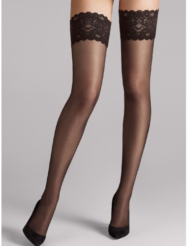 Wolford Satin touch 20 stay up,Wolford