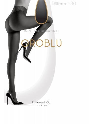 Oroblu DIFFERENT 80 denier panty,Oroblu